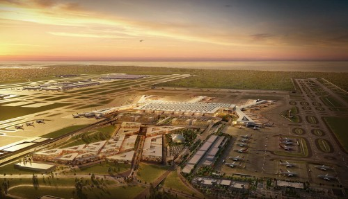 A new $11.7 billion airport just opened in Turkey, and it could become one of the world's biggest. Take a look inside the giant hub.