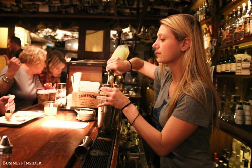 An authentic Irish pub that's a favorite on Wall Street was just named the best bar in the world