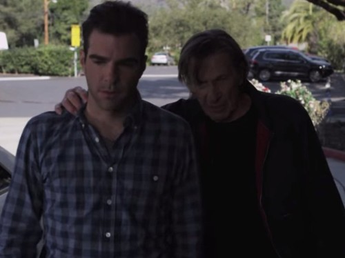 Leonard Nimoy and Zachary Quinto teamed up to make the ultimate 'Star Trek' commercial for Audi