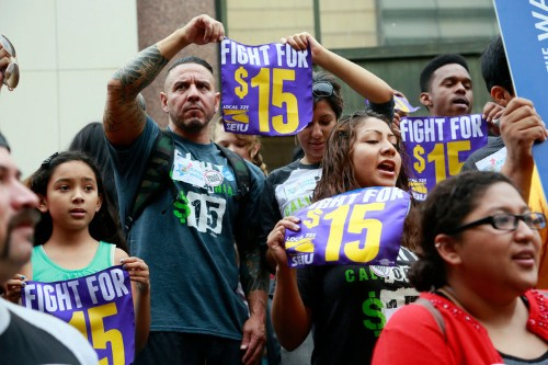 California raises minimum wage to $15 an hour
