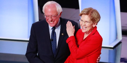 Sanders and Warren wealth tax plan gets support from 2020 Dem moderates - Business Insider