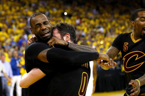 An emotional LeBron James after winning championship: 'CLEVELAND, THIS ONE'S FOR YOU'