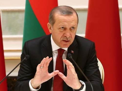 'It's quite clear, perfectly obvious': Erdogan accuses the West of backing ISIS in Syria