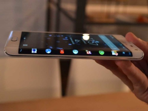 It Looks Like You'll Be Able To Buy Samsung's Strange, Curvy New Galaxy Phone Soon