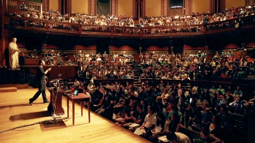 Almost No One Attended Mark Zuckerberg's 2005 Lecture At Harvard's Computer Science Class (Which Is Now Insanely Popular)