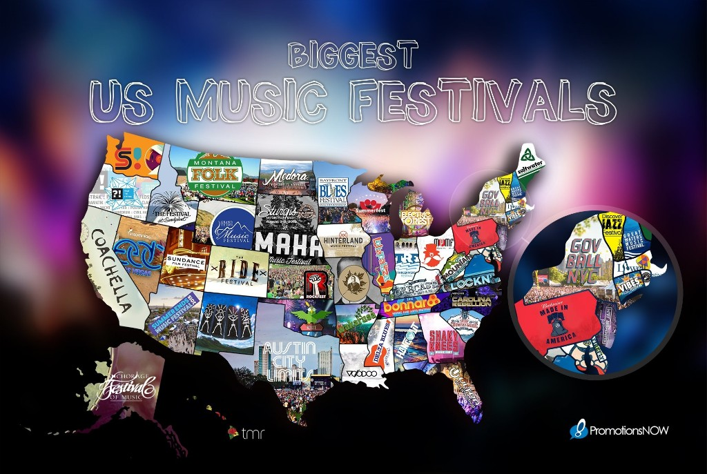 Music Festivals - Magazine cover