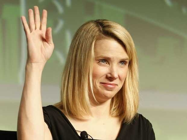 Marissa Mayer Was Dubbed A Stanford Campus Icon For Being A Blonde In Computer Science Classes