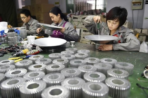 China manufacturing growth at lowest in 2014