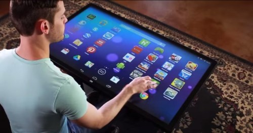 Check Out This Insane Coffee-Table-Sized Android Tablet That's Bigger Than A Sofa