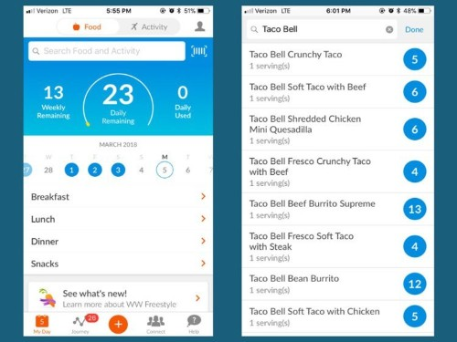 The Weight Watchers app makes it easy to lose weight — I use it every day and I've lost 20 pounds in 8 months