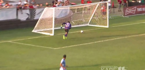 You may never see a worse own goal than Minnesota United's goalie throwing the ball into his own net