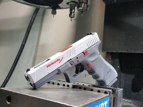 Texas-based firearms maker responds to criticism surrounding a real gun that looks like Nintendo's toy 'Duck Hunt' gun