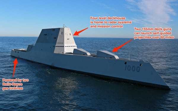 These are the features of America's most futuristic ship that just hit the waters - Business Insider