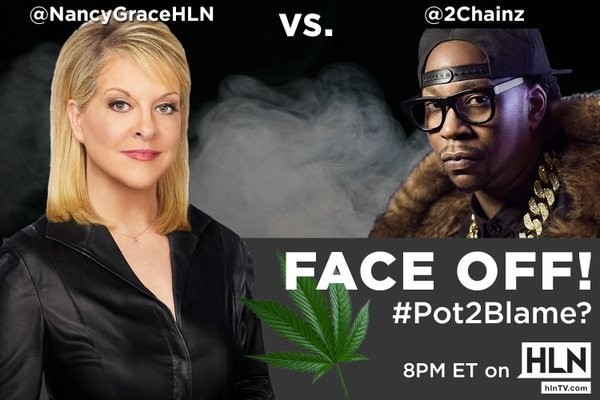 Nancy Grace And Rapper 2 Chainz Have An Incredible Debate Over Legalizing Pot