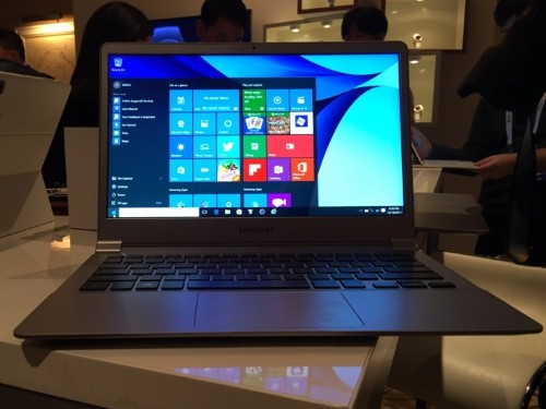 This new Samsung laptop is shockingly thin and light