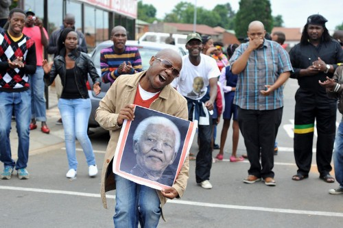 South Africans Mourn Mandela With Equal Parts Song And Sadness