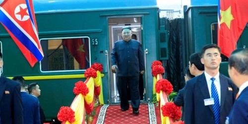 Kim took train to Trump Vietnam summit, likely to save face with China