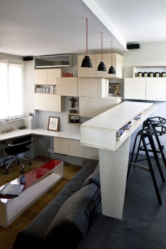 Architects Turned A Master Bedroom Into A 130-Square-Foot Apartment