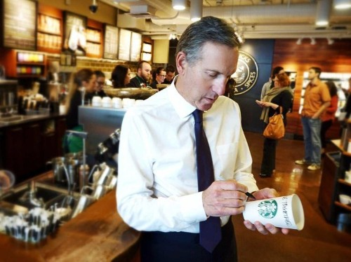 Starbucks CEO: We are growing because we invested in tech