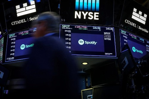 Spotify tumbles on reports Apple will fund its own original podcasts (AAPL, SPOT)