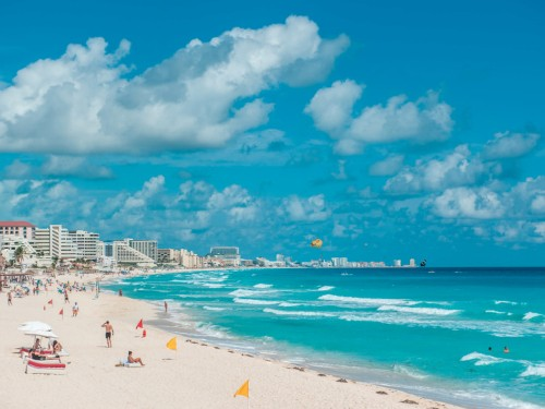 The US just issued a warning against traveling to Cancun
