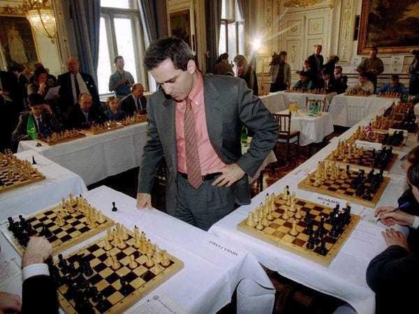 Garry Kasparov interview - Business Insider