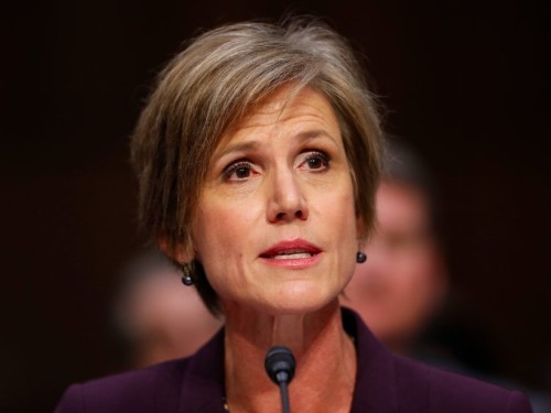 'He could be blackmailed by the Russians': Sally Yates explains why she warned the White House about Michael Flynn
