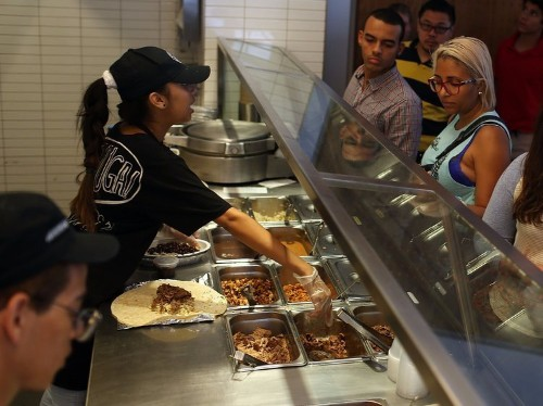 An analyst downgraded Chipotle for paying its workers too much, and it tells you everything wrong with the economy right now