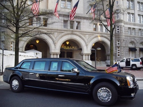 Here's what the limos of 8 world leaders look like