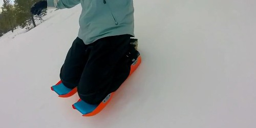 These guys invented a way to sled without a sled