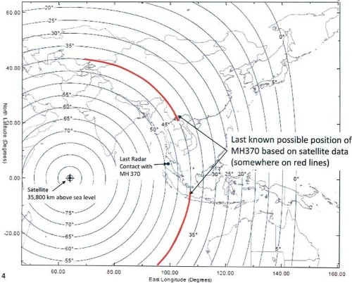 New Map Shows Two Possible Paths For Missing Jet