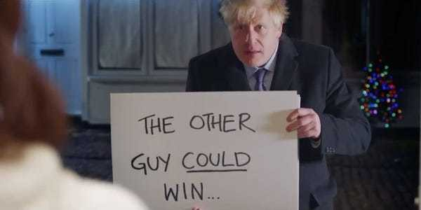 Boris Johnson parodied 'Love Actually' in campaign ad supporting Brexit - Business Insider