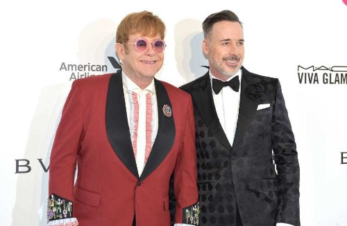 Elton John shredded seating plan for wedding to David Furnish - Business Insider