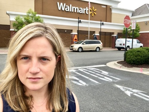 I tried to buy a gun at Walmart twice and roadblocks left me empty-handed both times