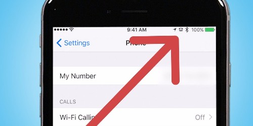 Here's what every symbol on top of your iPhone means