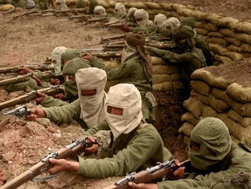 These amazing colorized photographs bring World War I to life