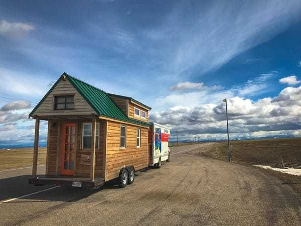 Take a look inside the world's most traveled tiny house - Business Insider