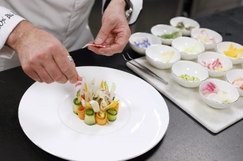 Michelin-starred chef takes organic quality to 'fanatic' extremes