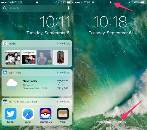 There is one giant change you'll notice on your iPhone when you download iOS 10