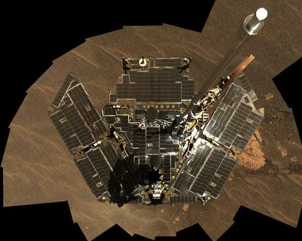 The Opportunity Rover Looks Nearly Unrecognizable After 10 Years On Mars - Business Insider