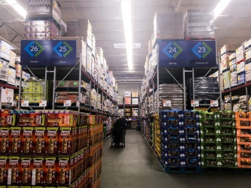 Costco and Sam's Club compared, pictures, details