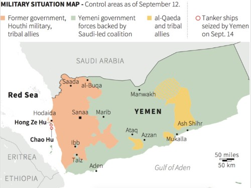 Saudi Arabian site used to monitor ceasefire violations in Yemen struck by rockets