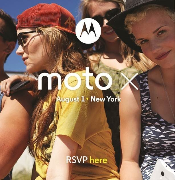 Motorola Will Announce Its New Smartphone, The Moto X, On August 1