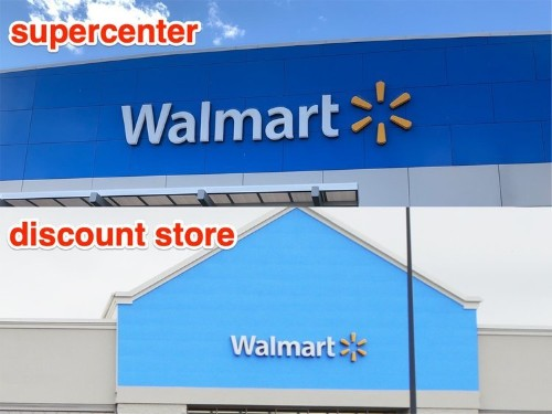 What it's like to shop at Walmart Discount Stores and Supercenters