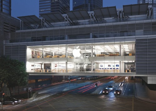 Apple closed its stores early in Hong Kong after violent protests erupted in the city
