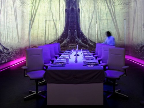 Only 10 guests can eat at this Michelin-starred restaurant per night, where a meal costs $600 and the dining room is transformed by high-tech lights, sounds, and scents throughout the evening