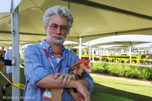 This spot-on George Lucas impersonator blew everyone away at Comic-Con