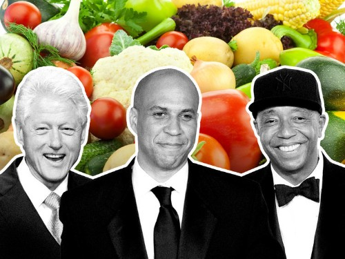 9 Powerful Men Who Don't Eat Meat