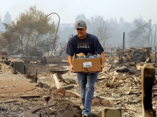 How to help people affected by the massive fires burning California's wine country