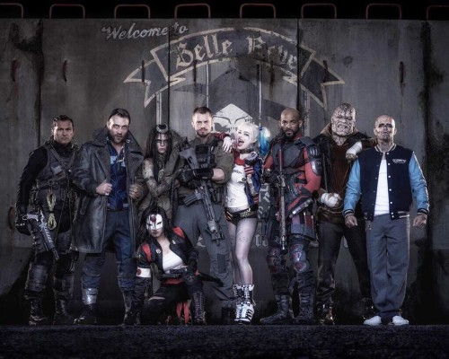 Here's how the 'Suicide Squad' cast looks compared to their comic-book counterparts
